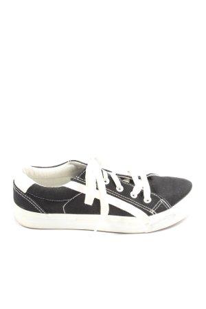 Alive Sneaker stringata nero-bianco stile casual