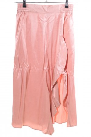 ALIX Midi Skirt pink casual look