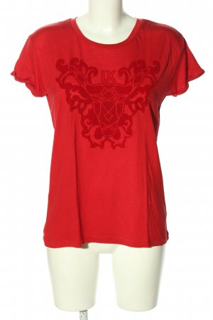 ALIX T-Shirt red themed print casual look