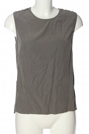 All Saints Mouwloze blouse lichtgrijs casual uitstraling