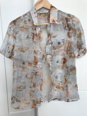 All Saints Transparante blouse veelkleurig