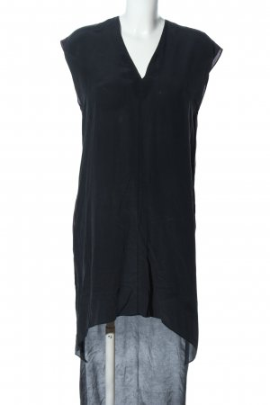 All Saints Vestido camisero negro-gris claro estilo «business»