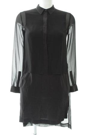 All Saints Blusenkleid schwarz Elegant
