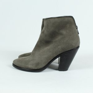 ALL SAINTS Booties Stiefeletten Gr. 38 grau (19/09/053*)