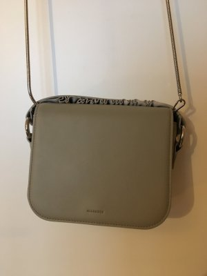All Saints Clutch/ Crossbody grau