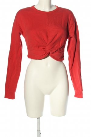 All Saints Koszula o skróconym kroju czerwony W stylu casual