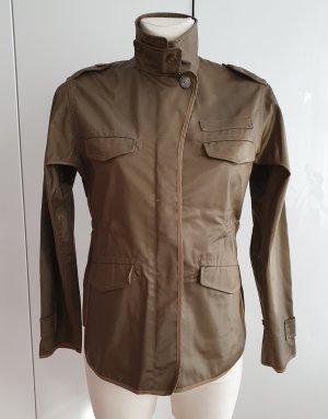 Allsaints Spitalfields Giacca militare marrone-grigio
