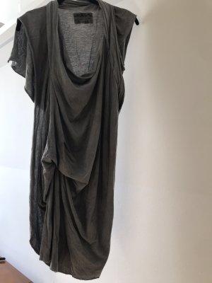 All Saints Robe à manches courtes gris-gris clair