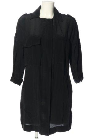 All Saints Koszulowa sukienka czarny W stylu casual