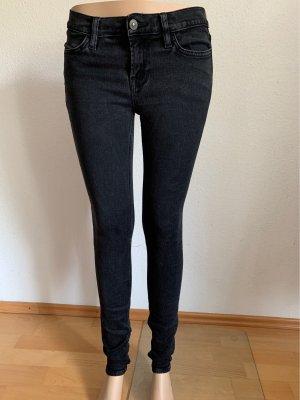 All Saints Spitalfields Skinny jeans zwart