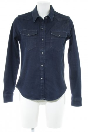 All Saints Jeansjacke blau Casual-Look
