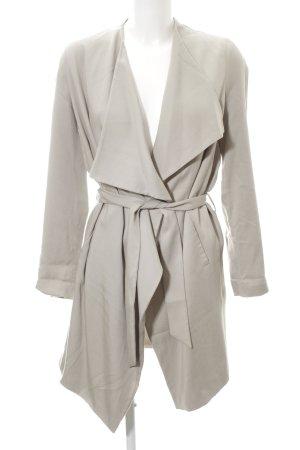 All Saints Short Coat light grey casual look