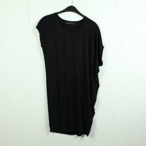 All Saints Lang shirt zwart Viscose
