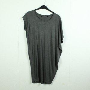 All Saints Lang shirt grijs Viscose