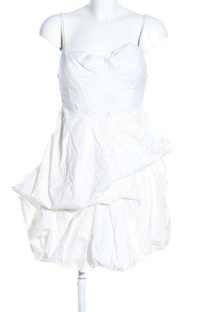 All Saints Mini vestido blanco look casual