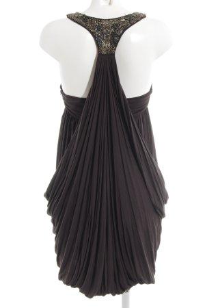 All Saints Mini Dress black brown beach look