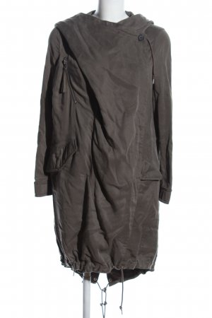 All Saints Parka hellgrau Casual-Look