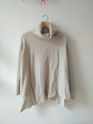 All Saints Wełniany sweter jasnoszary-szary