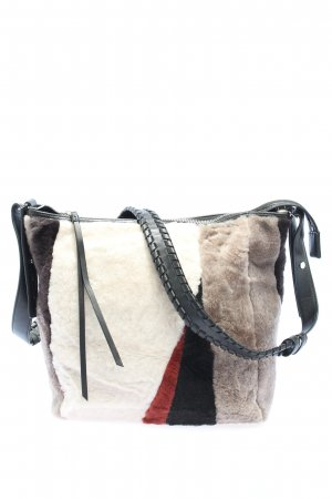 All Saints Shoulder Bag abstract pattern casual look