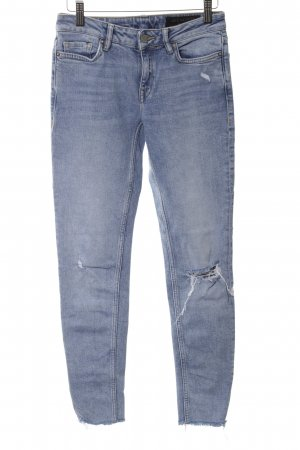 All Saints Vaquero skinny azul look casual