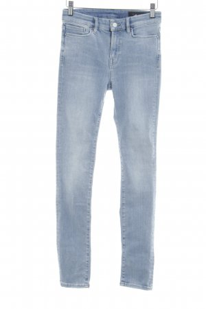 All Saints Skinny jeans lichtblauw casual uitstraling