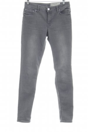 All Saints Vaquero slim gris look casual