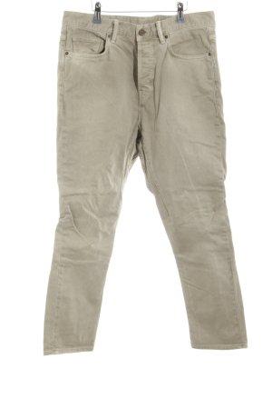 All Saints Jeans slim gris brun style décontracté