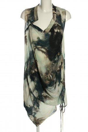 All Saints Spitalfields Chiffon jurk veelkleurig Zijde
