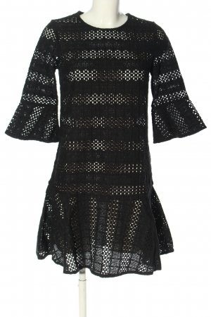 All Saints Kanten jurk zwart elegant