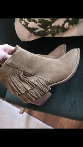 All Saints Ankle Boots light brown leather