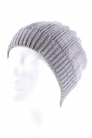 All Saints Knitted Hat light grey casual look