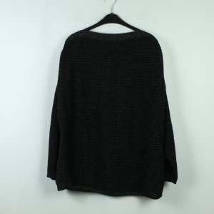 All Saints Spitalfields Oversized Sweater black-silver-colored