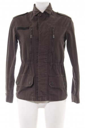All Saints Übergangsjacke braun Casual-Look