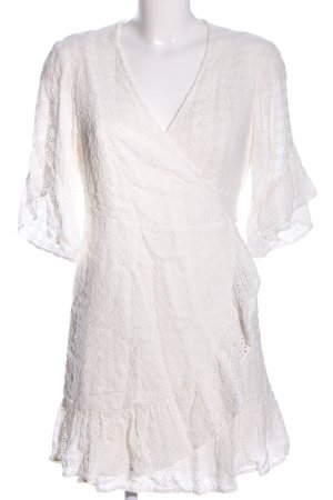 All Saints Vestido cruzado blanco puro estilo «business»