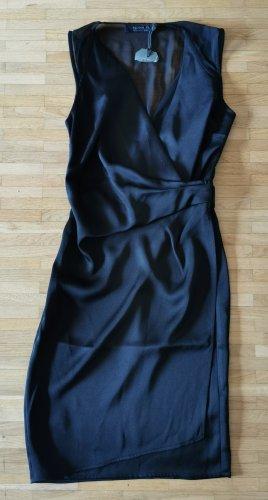 All Saints Kopertowa sukienka czarny Poliester
