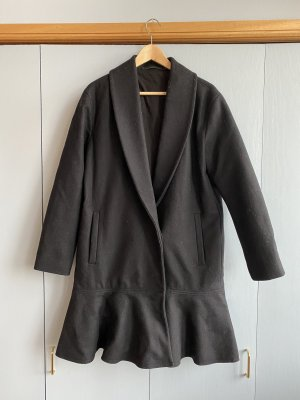 All Saints Wool Coat black