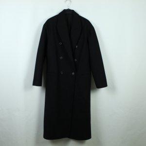 All Saints Wollen jas zwart Gemengd weefsel