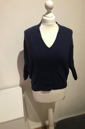 All Saints Wełniany sweter ciemnoniebieski-niebieski