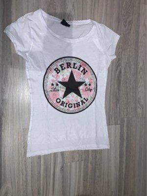 725 Originals T-shirt biały-w kolorze różowego złota