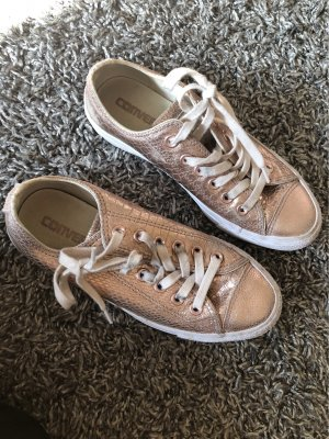 Converse Lace-Up Sneaker pink-apricot