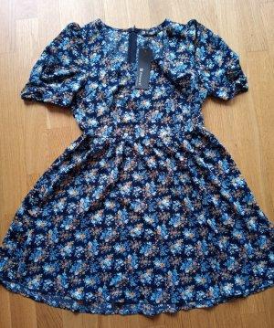 Allegra K. Sukienka typu babydoll Wielokolorowy