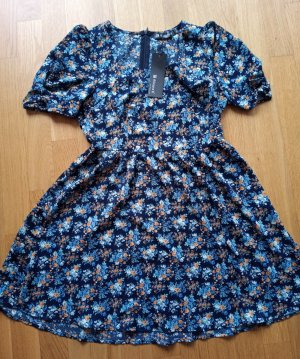 Allegra K. Babydoll-jurk veelkleurig