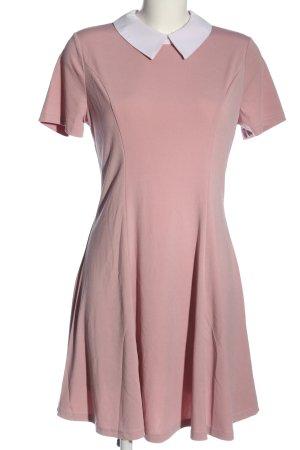 Allegra K. Kurzarmkleid pink Casual-Look