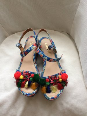 CB by Coral Blue Strapped Sandals multicolored
