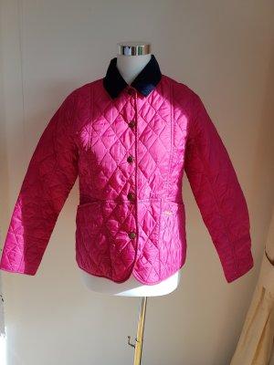 Barbour Quilted Jacket pink-violet