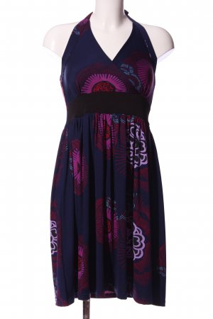 Aller Simplement A Line Dress mixed pattern casual look