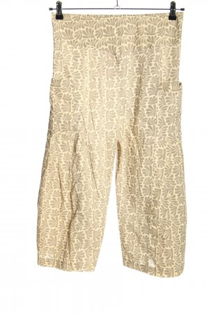 Aller Simplement Jersey Pants cream-light grey abstract pattern casual look