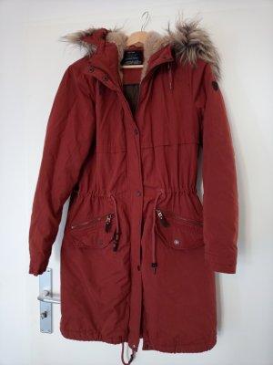 Only Winter Coat dark orange-russet