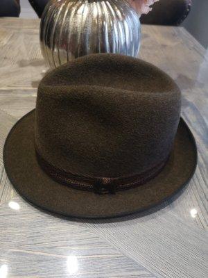 Allgäuer Lodenhut Wollen hoed bruin
