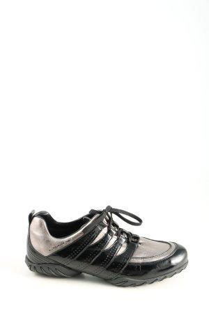 Allrounder by Mephisto Zapatos brogue negro-color plata look casual